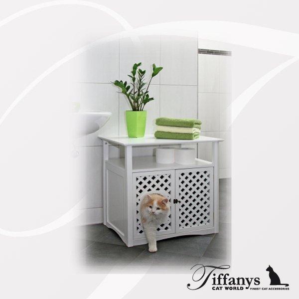 katzenschrank cathuus katzentoilette schlafh hle hundehalsb nder online kaufen. Black Bedroom Furniture Sets. Home Design Ideas