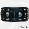 "Hundehalsband ""Glorious Black"""