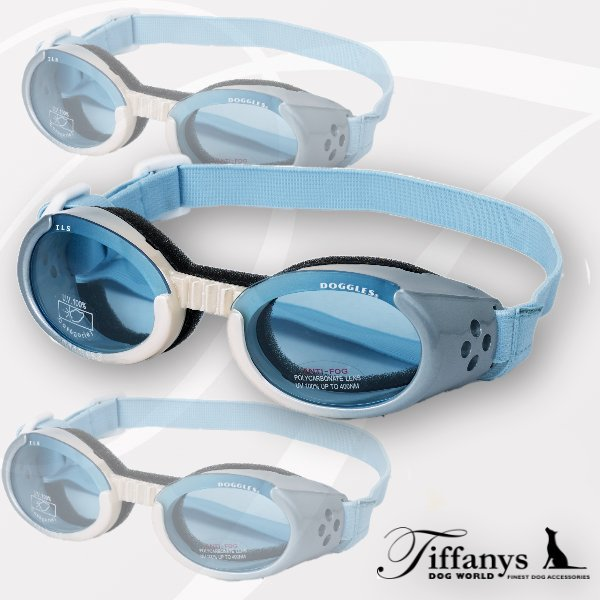Doggles ILS - Hundesonnenbrille: Ice