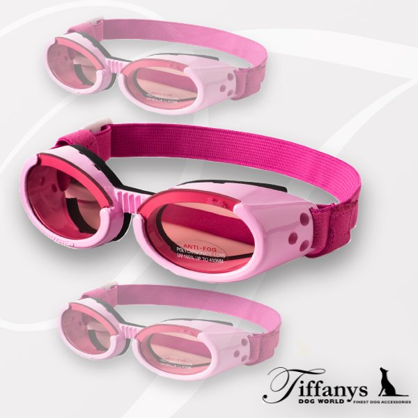 Doggles ILS - Hundesonnenbrille: Shiny Pink