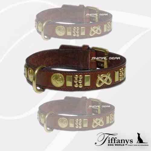 "Halsband ""Staff Brown"""