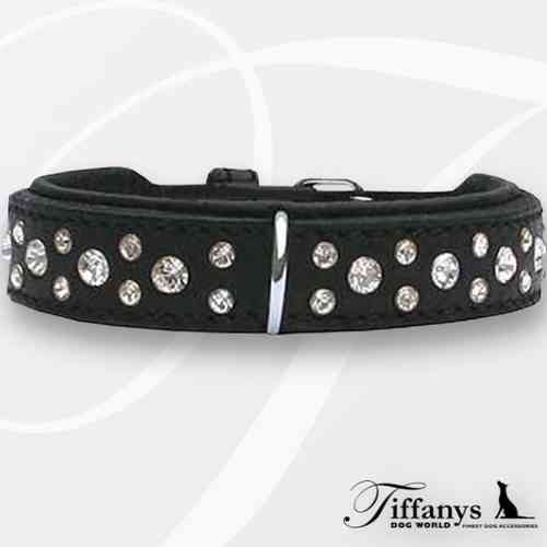 "Halsband ""Diamond Dog Black-White"""