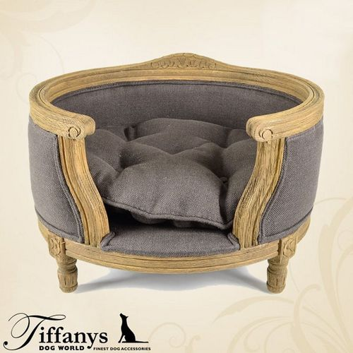 Hundebett George Charcoal Brown